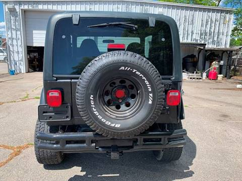 Used Jeep Wrangler Sport >> 2002 Jeep Wrangler Sport For Sale In Fayetteville Nc