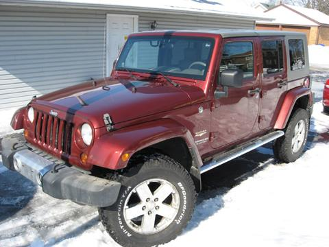 2008 Jeep Wrangler Unlimited for sale in Rockford, IL
