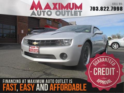 2012 Chevrolet Camaro for sale in Manassas, VA
