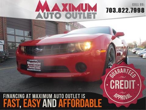 2011 Chevrolet Camaro for sale in Manassas, VA