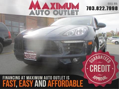2016 Porsche Macan for sale in Manassas, VA