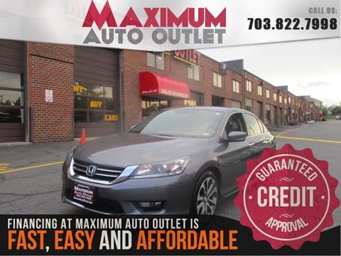 2015 Honda Accord for sale in Manassas, VA