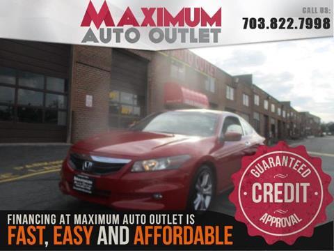 2011 Honda Accord for sale in Manassas, VA
