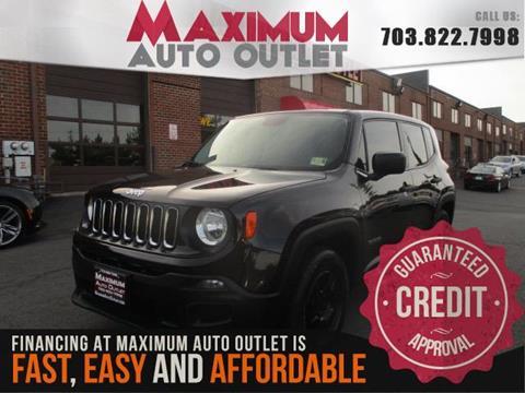 2015 Jeep Renegade for sale in Manassas, VA