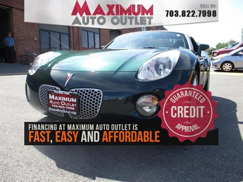 2007 Pontiac Solstice for sale in Manassas, VA