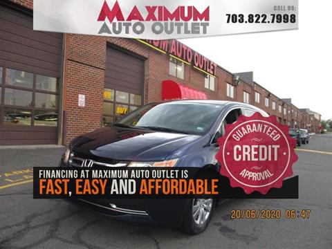 2015 Honda Odyssey for sale in Manassas, VA