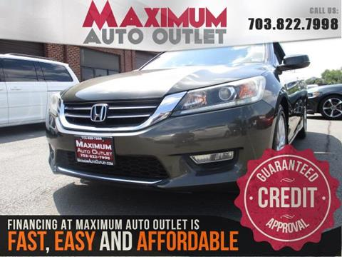 2013 Honda Accord for sale in Manassas, VA