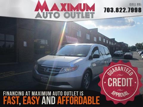 2013 Honda Odyssey for sale in Manassas, VA