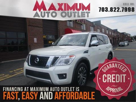 2018 Nissan Armada for sale in Manassas, VA
