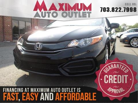 2015 Honda Civic for sale in Manassas, VA