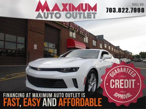 2017 Chevrolet Camaro for sale in Manassas, VA
