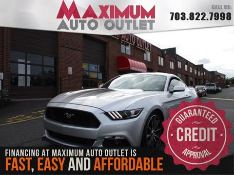 2017 Ford Mustang for sale in Manassas, VA