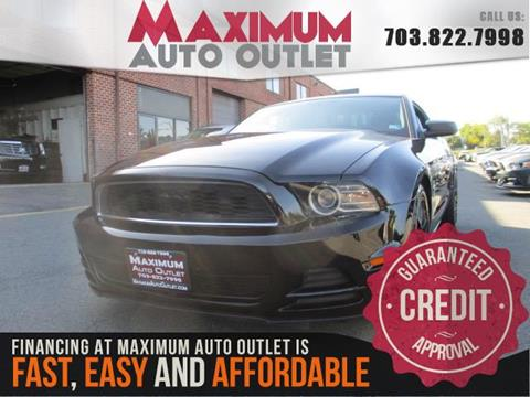 2013 Ford Mustang for sale in Manassas, VA