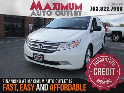 2012 Honda Odyssey for sale in Manassas, VA