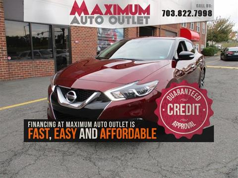2017 Nissan Maxima for sale in Manassas, VA