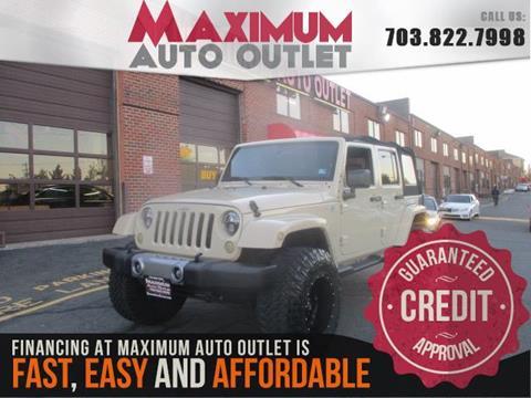 2011 Jeep Wrangler Unlimited for sale in Manassas, VA