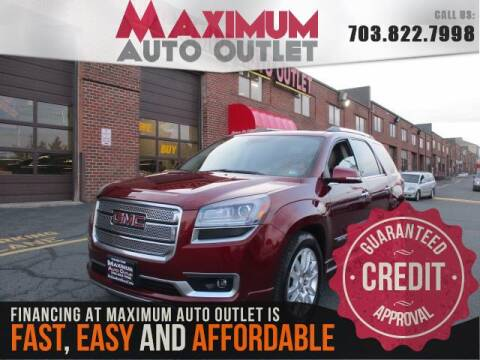 2015 GMC Acadia for sale in Manassas, VA