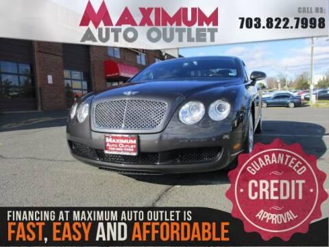 2007 Bentley Continental for sale in Manassas, VA