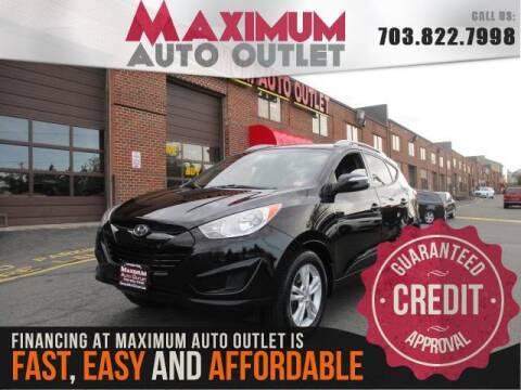 2012 Hyundai Tucson GLS for sale at MAXIMUM AUTO OUTLET in Manassas VA