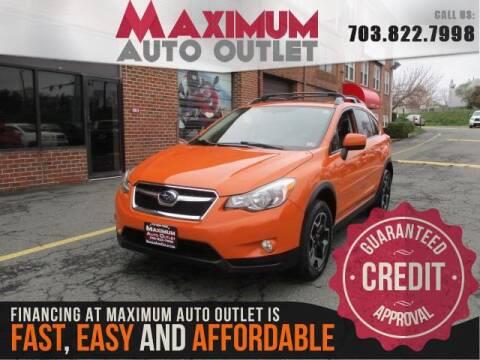 2014 Subaru XV Crosstrek 2.0i Limited for sale at MAXIMUM AUTO OUTLET in Manassas VA