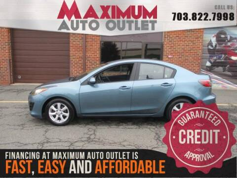 2010 Mazda MAZDA3 i Touring for sale at MAXIMUM AUTO OUTLET in Manassas VA