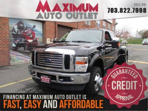 2009 Ford F-350 Super Duty for sale at MAXIMUM AUTO OUTLET in Manassas VA
