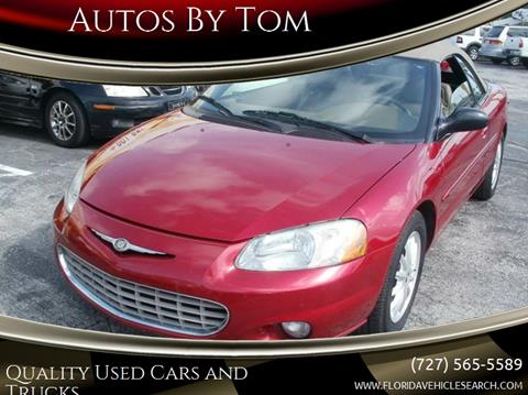 2003 Chrysler Sebring for sale at Autos by Tom in Largo FL