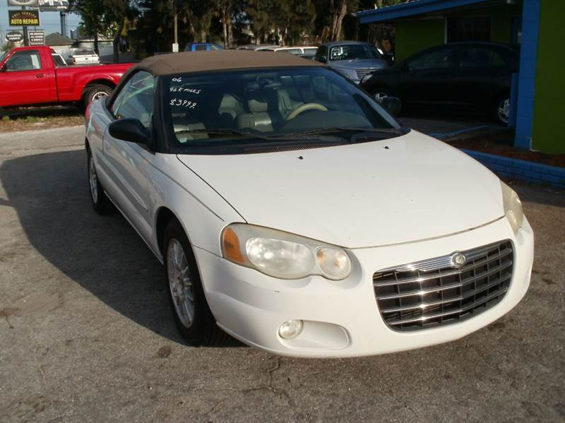 2006 Chrysler Sebring Touring 2dr Convertible In Largo FL - Autos By Tom