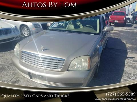 2004 Cadillac DeVille for sale at Autos by Tom in Largo FL