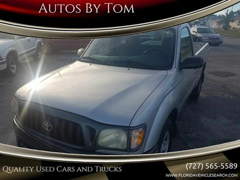 2004 Toyota Tacoma for sale at Autos by Tom in Largo FL