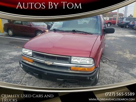 2001 Chevrolet S-10 for sale in Largo, FL