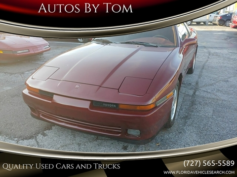Used 1989 Toyota Supra For Sale In Conyers Ga Carsforsale Com