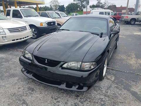1998 Ford Mustang SVT Cobra for sale in Largo, FL