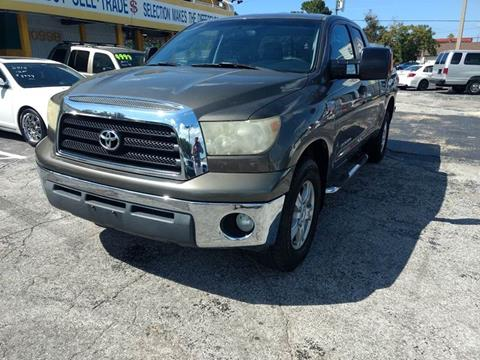 2008 Toyota Tundra for sale at Autos by Tom in Largo FL