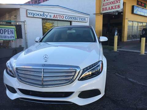 2015 Mercedes-Benz C-Class for sale at Moody's Auto Connection LLC in Henderson NV