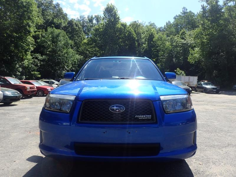 2008 Subaru Forester AWD Sports 2.5 X 4dr Wagon 5M - Storrs CT