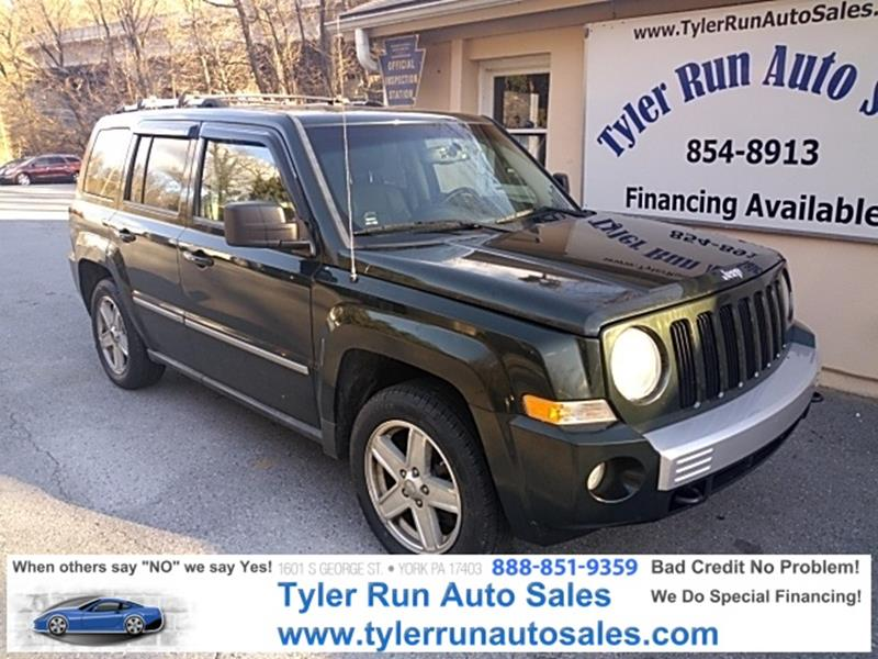 2010 jeep patriot 4x4 limited 4dr suv in york pa tyler run auto sales. Black Bedroom Furniture Sets. Home Design Ideas