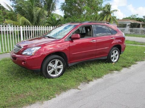 2008 Lexus RX 400h for sale in Miami, FL