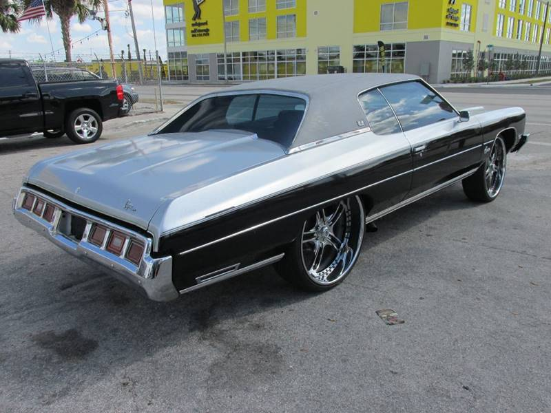1973 Chevrolet Caprice Classic In Miami FL - TROPICAL MOTOR CARS INC