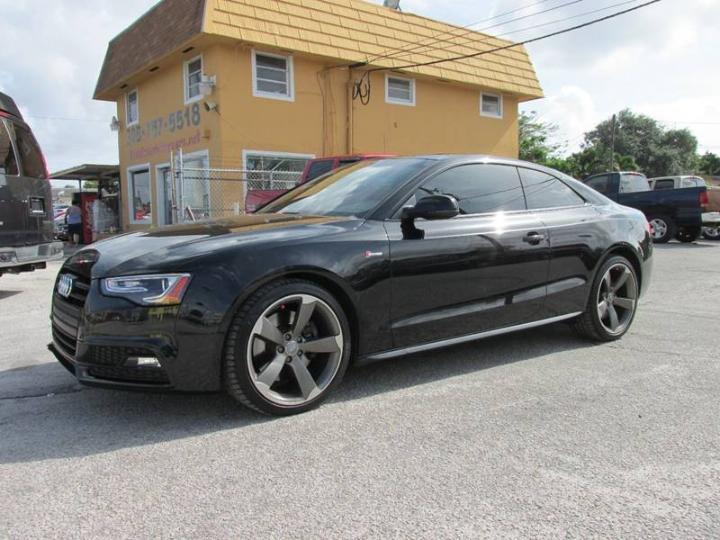 2014 Audi S5 for sale at TROPICAL MOTOR CARS INC in Miami FL