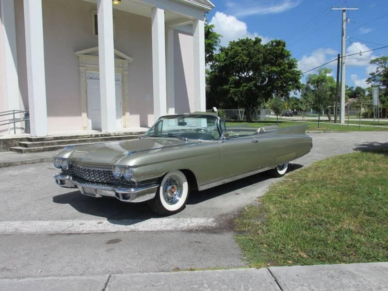 1960 Cadillac Eldorado Biarritz In Miami Fl Tropical Motor Cars Inc