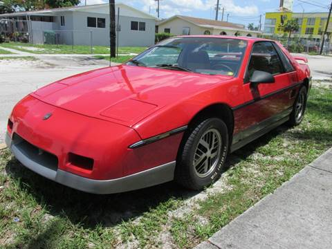 1985 Pontiac Fiero for sale in Miami, FL