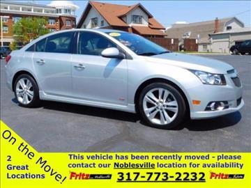 2014 Chevrolet Cruze for sale at Fritz in Noblesville in Noblesville IN