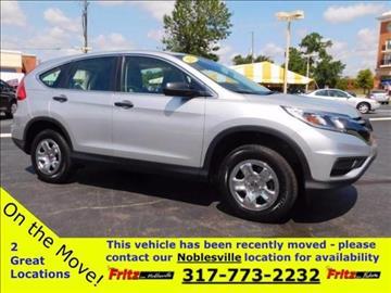 2015 Honda CR-V for sale at Fritz in Noblesville in Noblesville IN