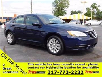 2013 Chrysler 200 for sale at Fritz in Noblesville in Noblesville IN