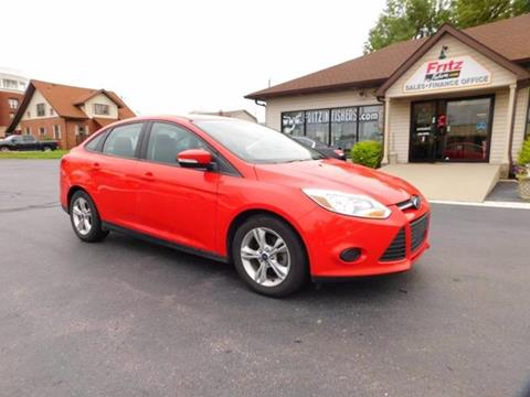 2014 Ford Focus for sale at Fritz in Noblesville in Noblesville IN