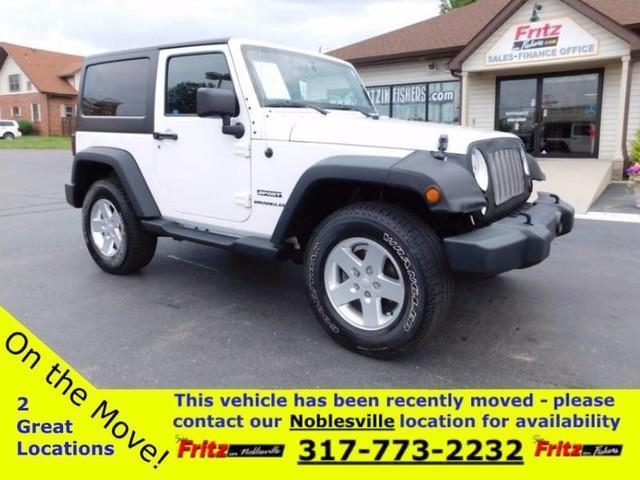 2014 Jeep Wrangler for sale at Fritz in Noblesville in Noblesville IN