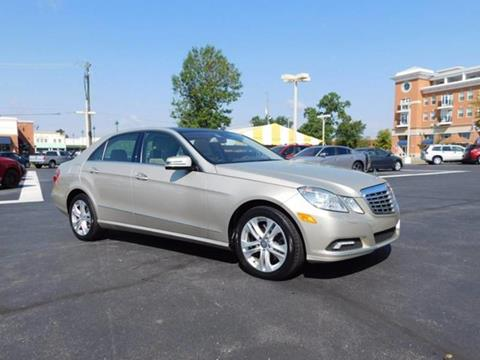 2010 Mercedes-Benz E-Class for sale at Fritz in Noblesville in Noblesville IN