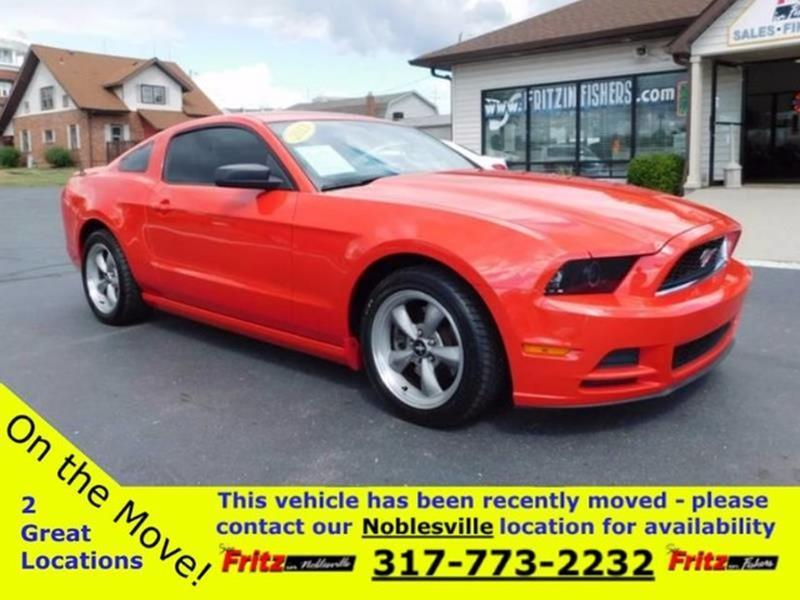 2013 Ford Mustang for sale at Fritz in Noblesville in Noblesville IN