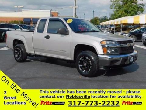 2005 Chevrolet Colorado for sale at Fritz in Noblesville in Noblesville IN